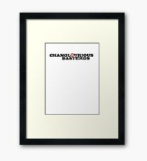 Changlourious Basterds Framed Print