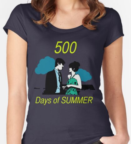 500 days of Summer Women's Fitted Scoop T-Shirt