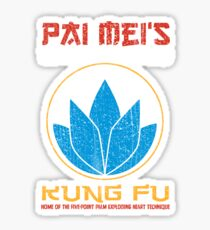Your so-called kung-fu is really quite pathetic Sticker