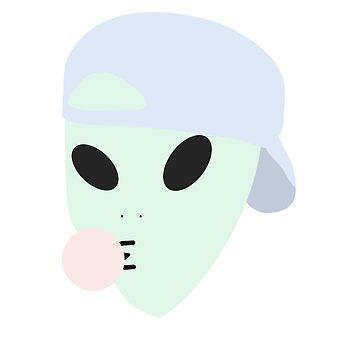 bubblegum alien by binxberry