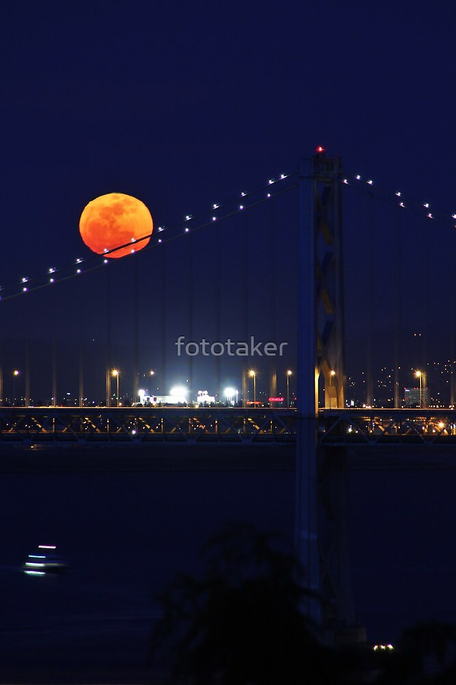 Full Moon Rising by fototaker