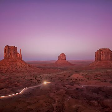 Monument Valley National Park - West Mitten, East Mitten and Merrick Butte by LostVox