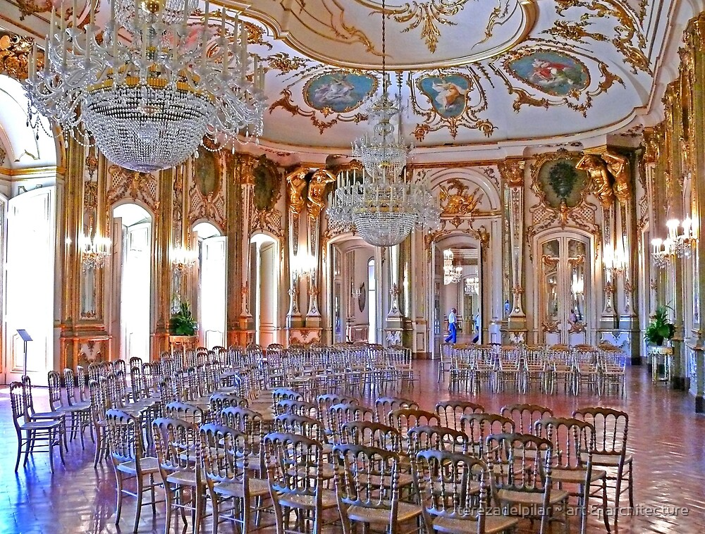 Queluz Music Room by terezadelpilar ~ art & architecture