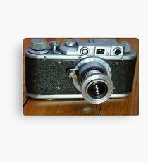 photo camera Canvas Print