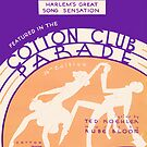 COTTON CLUB (vintage illustration) by ART INSPIRED BY MUSIC