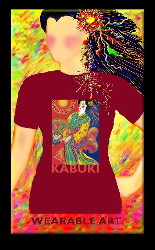 Kabuki, Wearable Art by luvapples downunder/ Norval Arbogast