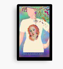 I Feel Pretty, Wearable Art Canvas Print