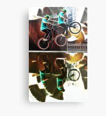 Extreme sports bike Metal Print
