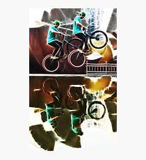 Extreme sports bike Photographic Print