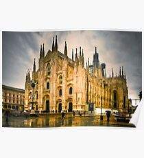 Milano Cathedral - edit Poster