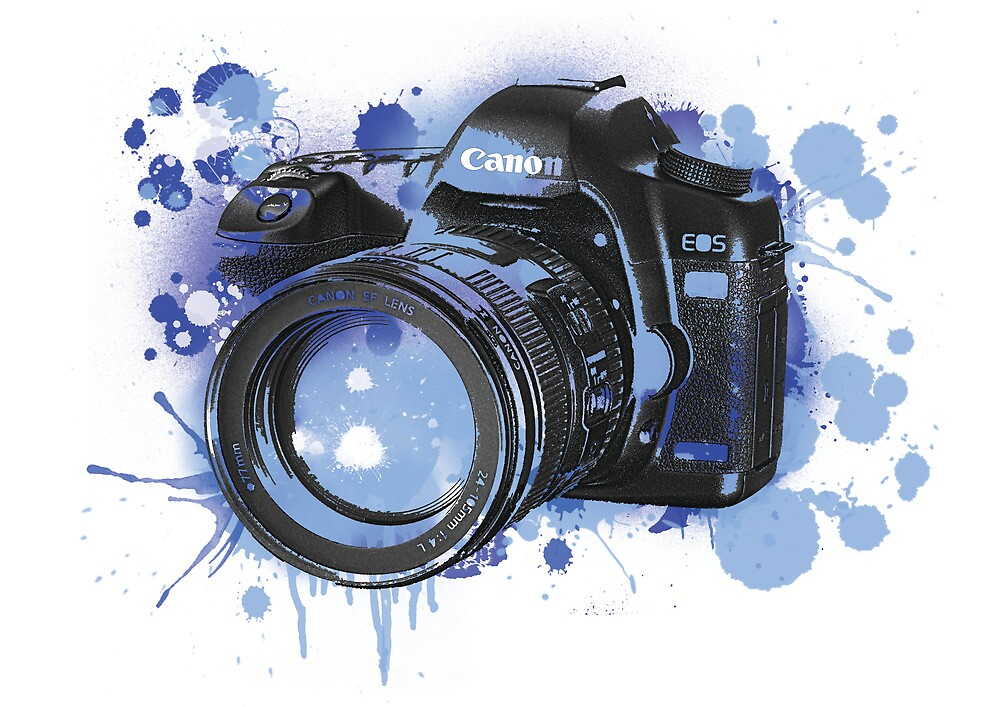 Camera Splat by Lewis Ross