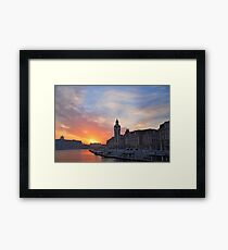 A Morning in Tianjin Framed Print
