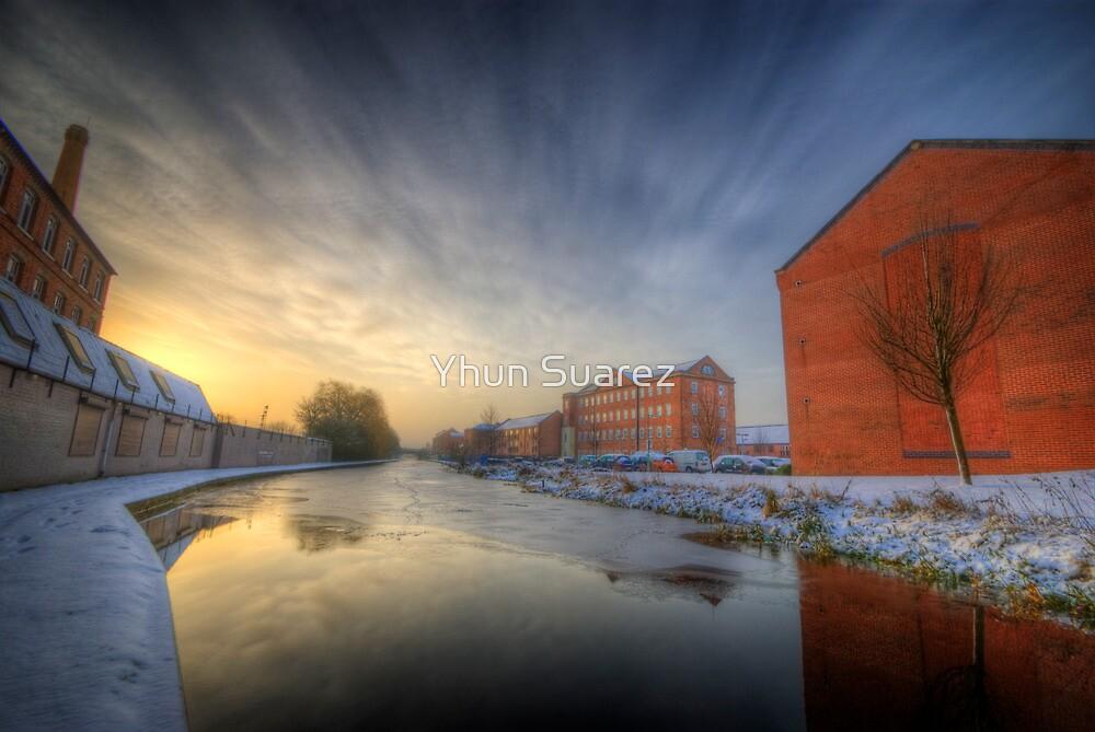 River Sunrise by Yhun Suarez