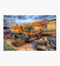 Big Crane 2.0 Photographic Print