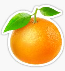 Fresh tangerine Sticker