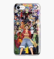 Anime mixup iPhone Case/Skin
