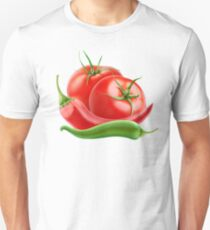 Hot sauce ingredients Unisex T-Shirt