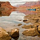 Lees Ferry, Marble Canyon, Arizona by Sue Knowles