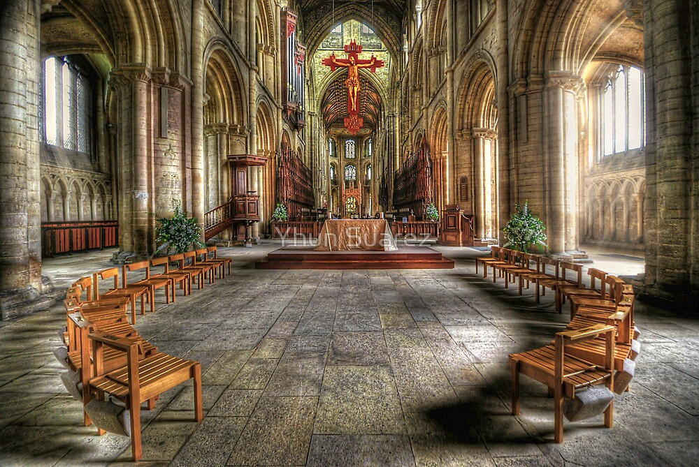 The Gathering - Peterborough Cathedral by Yhun Suarez