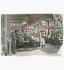 Café Metropole, Brussels Poster