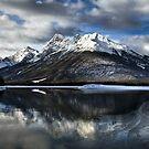 Spray Lakes Morning  by Justin Atkins