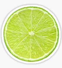 Slice of lime Sticker