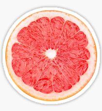 Scheibe Grapefruit Sticker