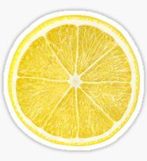 Zitronenscheibe Sticker
