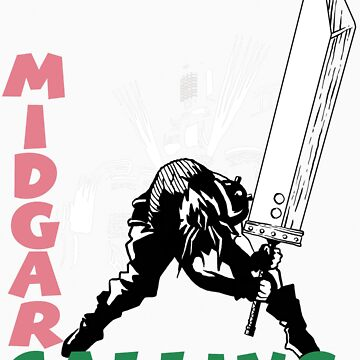 Midgar Calling by ryanhaak