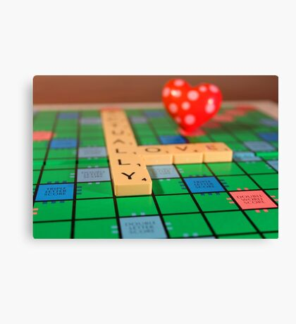 Lucky Tiles Canvas Print
