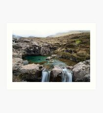 Fairy Pools of Skye Art Print
