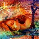 Asleep in Her Dreams by Rick Wollschleger