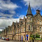Birnam High Street by Tom Gomez