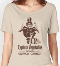Captain Vegetable Women's Relaxed Fit T-Shirt