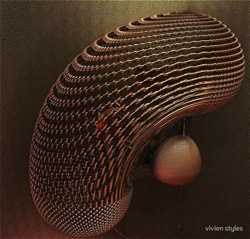 Cradling the bulb by vivien styles