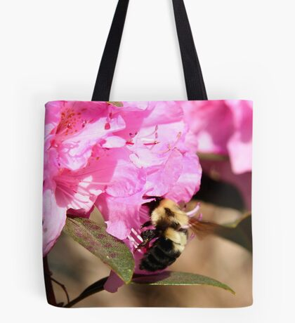 Beeing There - Rhododendron Tote Bag