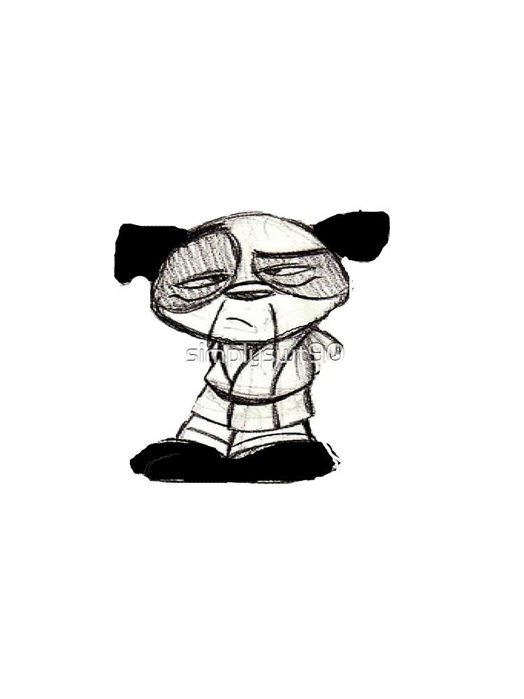 Panda Sensei by simplyswt90