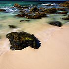 White sand and crystal waters by Scott Weeding
