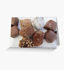 Chocolate Selection Greeting Card