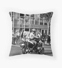 Waiting for The President... Throw Pillow