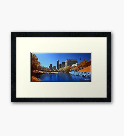Infrared Omaha Framed Print