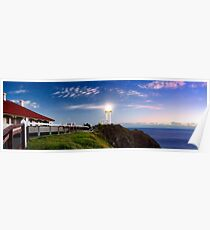 Byron Bay Lighthouse - Panorama Poster