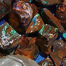 Aquatic Opals by Joel Fourcard