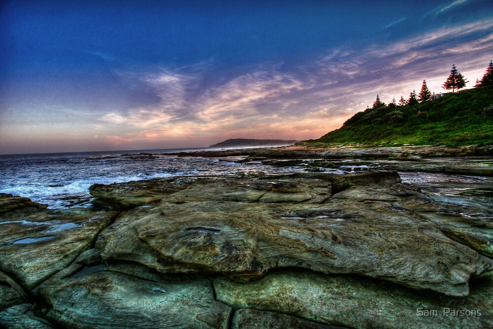 Shelly Beach by Sam  Parsons