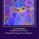 'ALHAMBRA' A Moorish Fantasy, Titled Greeting Card by luvapples downunder/ Norval Arbogast