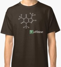 Caffeine Molecule Classic T-Shirt