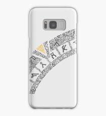 Earth (White) Samsung Galaxy Case/Skin