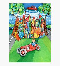 children's  car Photographic Print