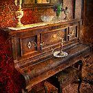Vintage Piano by Yhun Suarez