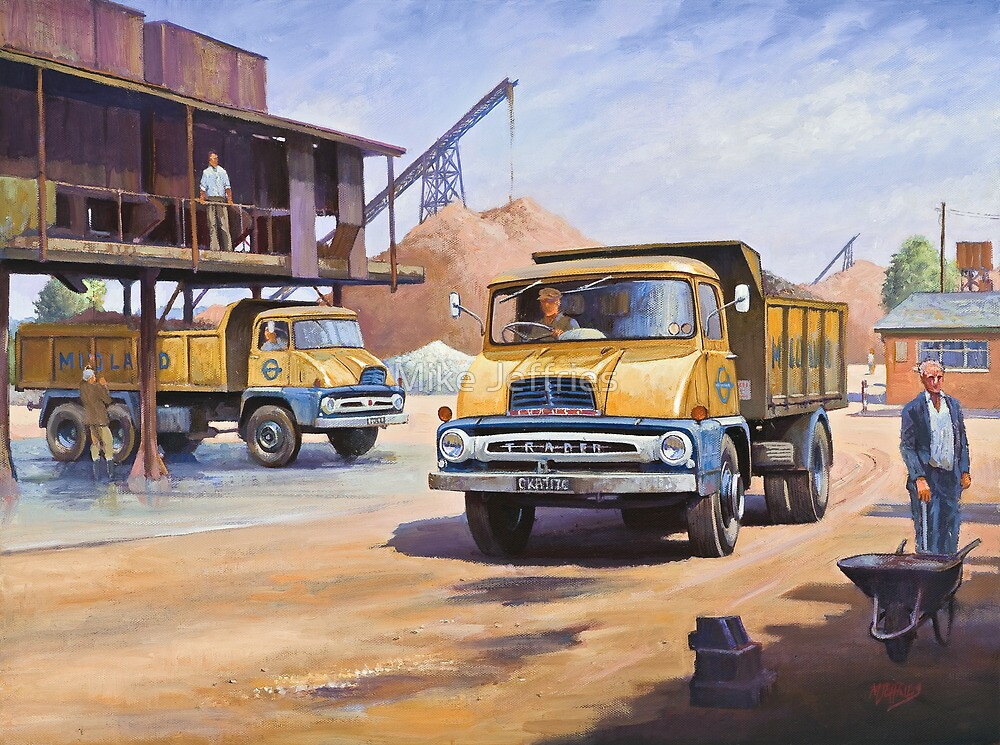Midland Gravel Thames Traders by Mike Jeffries
